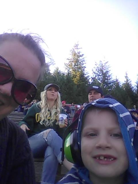 Our Great Fans At Coos Bay Speedway